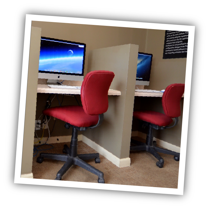 take advantage of our business center for students