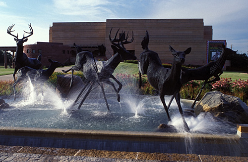 Indy Deer Fountain