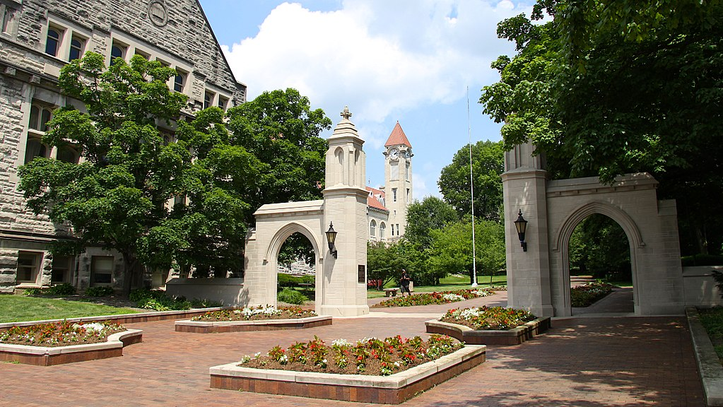 Sample Gates at Indiana University